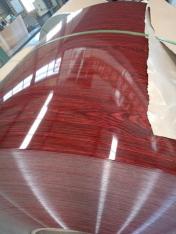 木纹彩涂铝卷